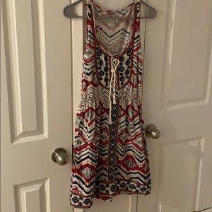 Boho Lucky brand summer dress size xs